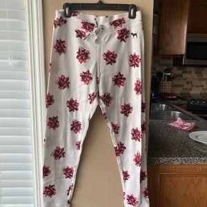 Pink Waffle Sleep Pants